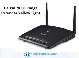 belkin n600 range extender yellow light-exceltechguru