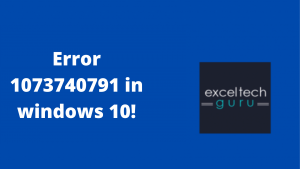 error 1073740791 in windows 10