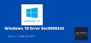 Error 0xc0000242 in Windows 10