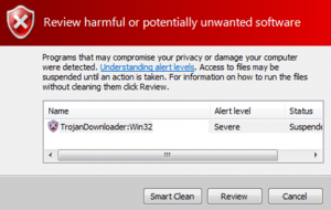 remove third part anti malwares