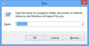 msinfo32 to check 0x00000101 Error in windows 10