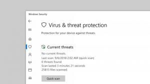 Look for malware or virus