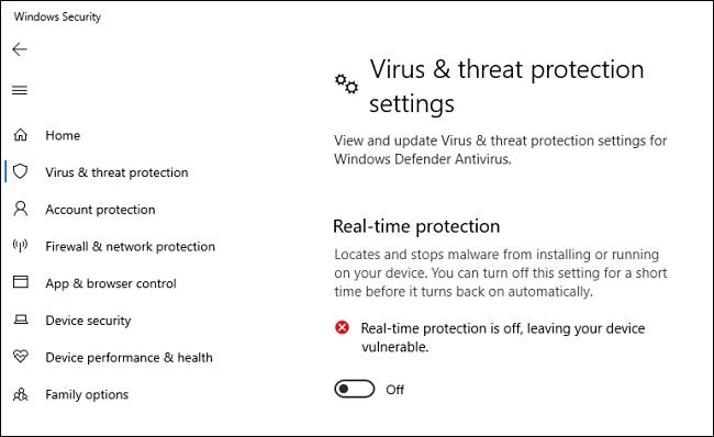 Debilitate the Anti malware